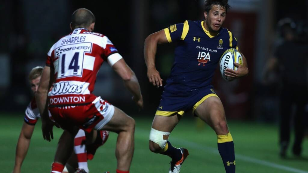 Dean Hammond has one try in five Aviva Premiership Rugby appearances this year