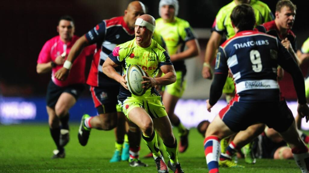 Peter Stringer relishing next block of Aviva Premiership Rugby clashes