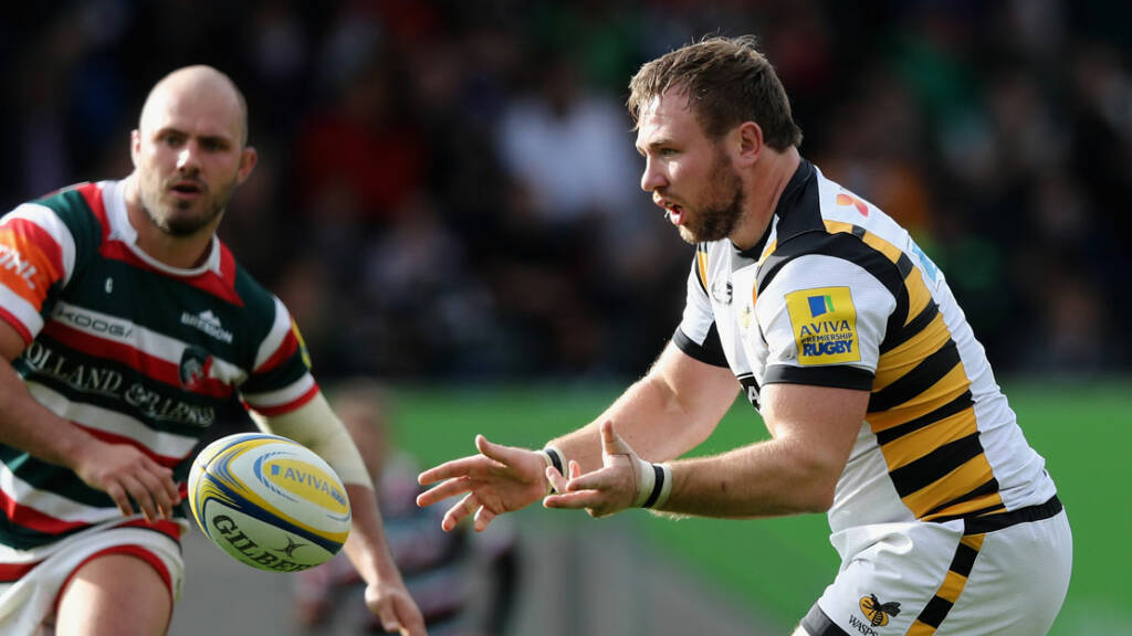 Wasps team to play Gloucester at Kingsholm
