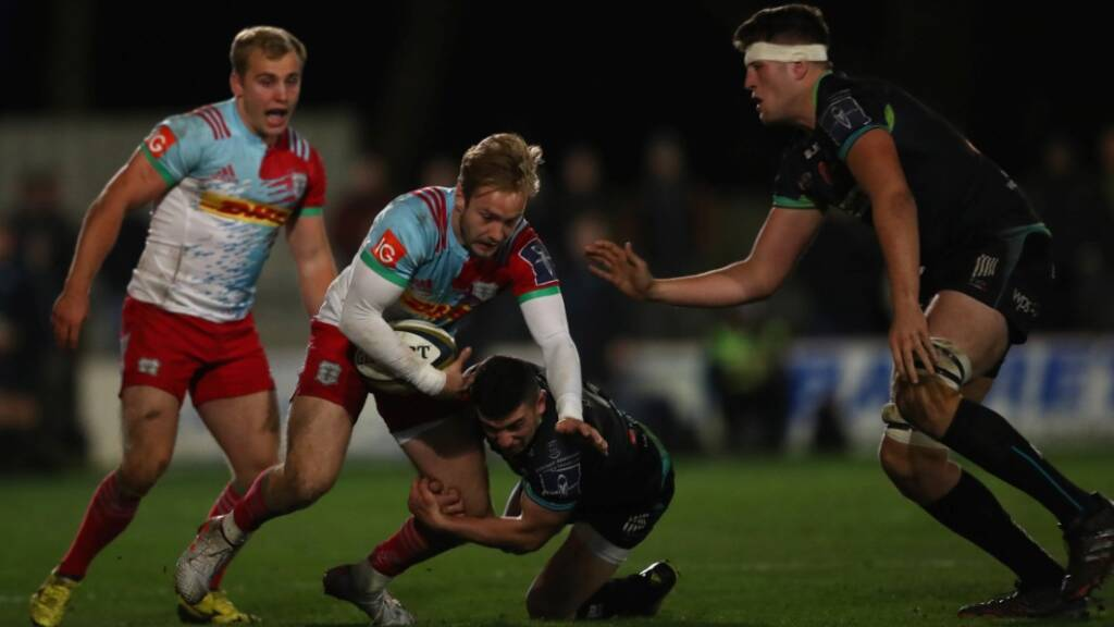 Harlequins' Charlie Walker wants to continue Leicester Tigers record