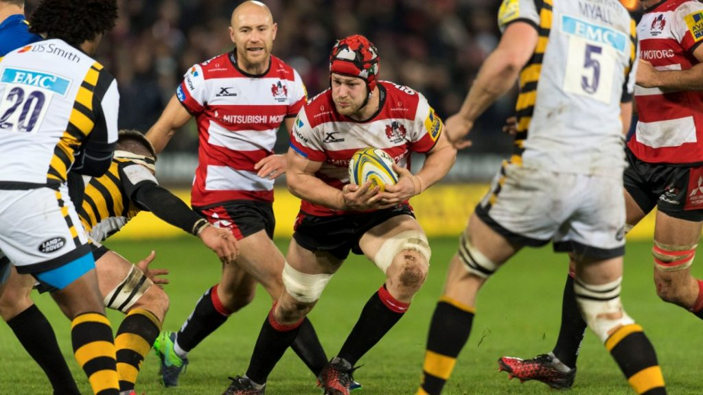 Find out how Saracens went top and the details of wins for Gloucester, Leicester Tigers, Bath Rugby, Northampton Saints and Exeter Chiefs