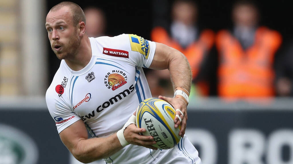 Exeter Chiefs side to face Worcester Warriors