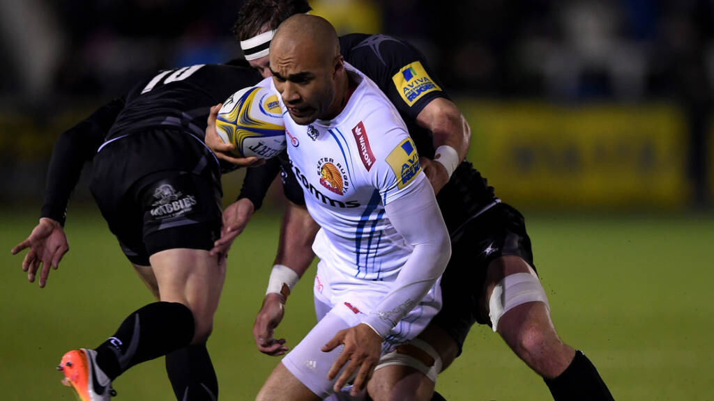 Olly Woodburn ready for Exeter Chiefs v Worcester Warriors test