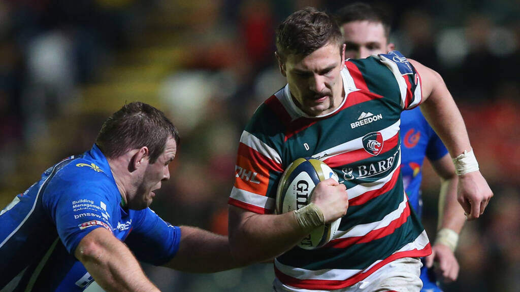 Harry Wells is leading the Movember charge at Leicester Tigers
