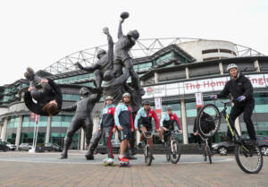 Harlequins Big Game 9 EXTREME Sports Photo call
