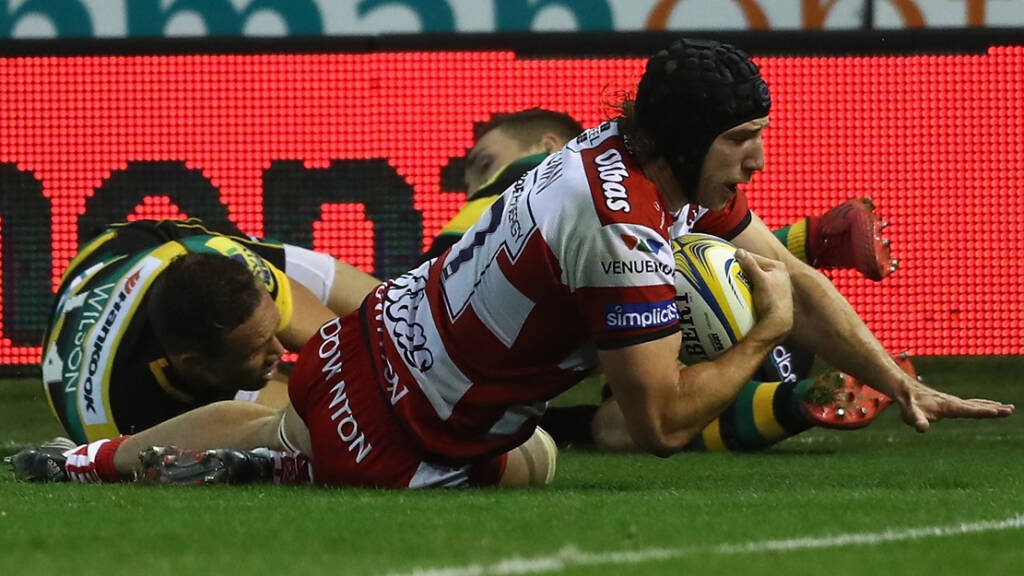 Gloucester Rugby battling hard to climb the Movember league table
