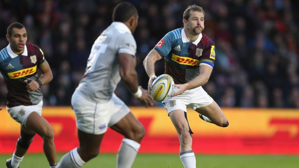 Evans determined for a Harlequins top-six finish