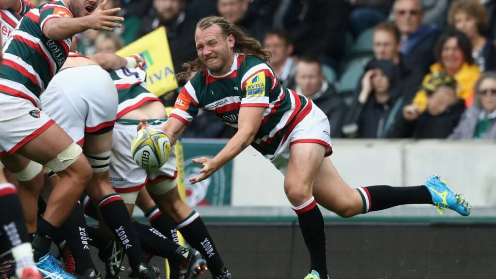 Sam Harrison has played seven time sfor Leicester Tigers in Aviva Premiership Rugby this season