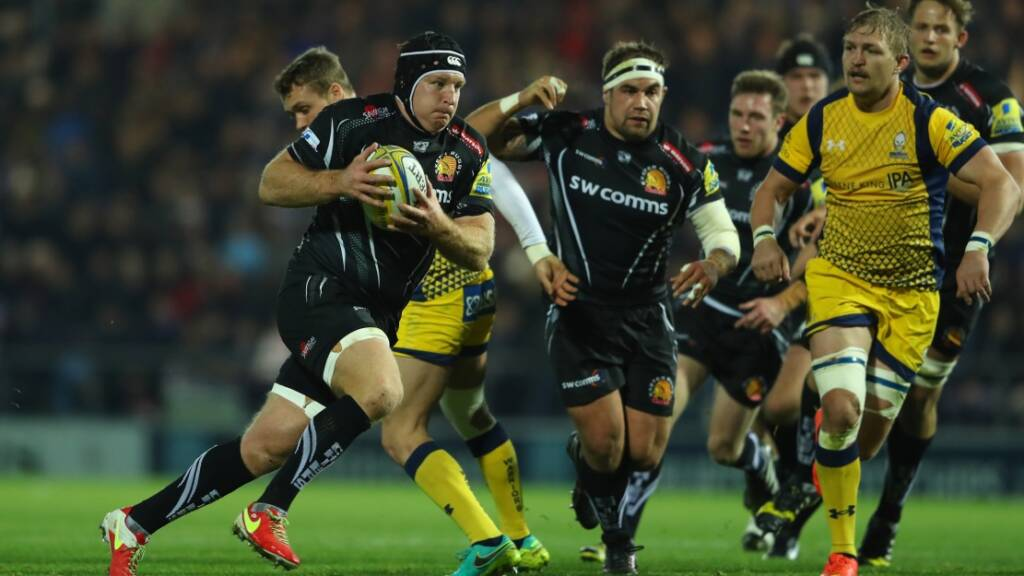 Thomas Waldrom was among the scorers against Worcester Warriors. (Getty Images)