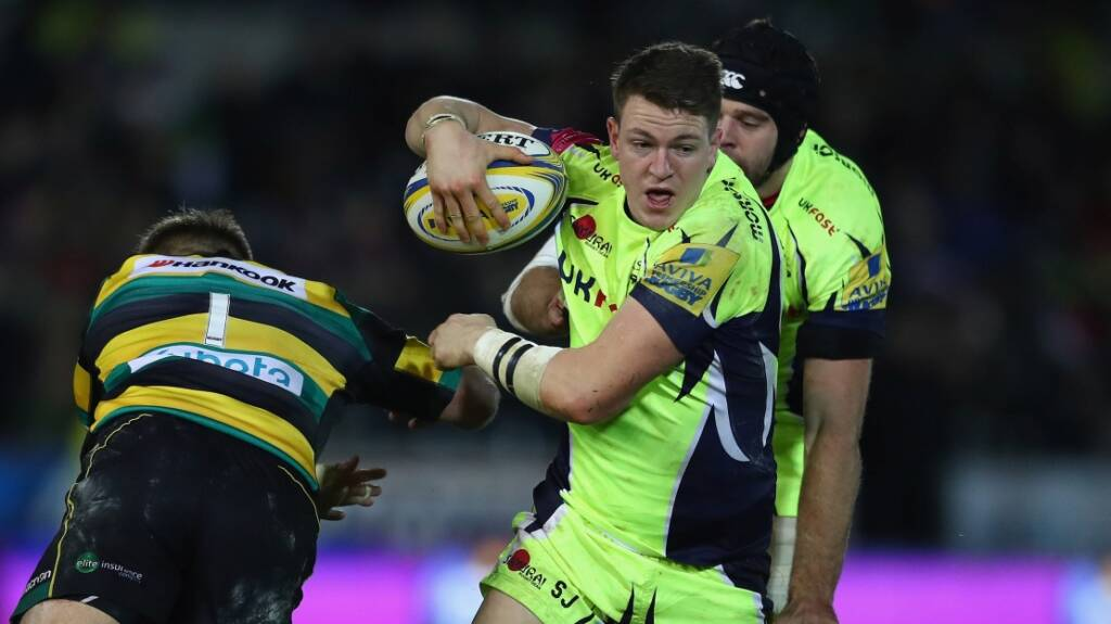 We must improve from Northampton, says Sale Sharks' Sam James