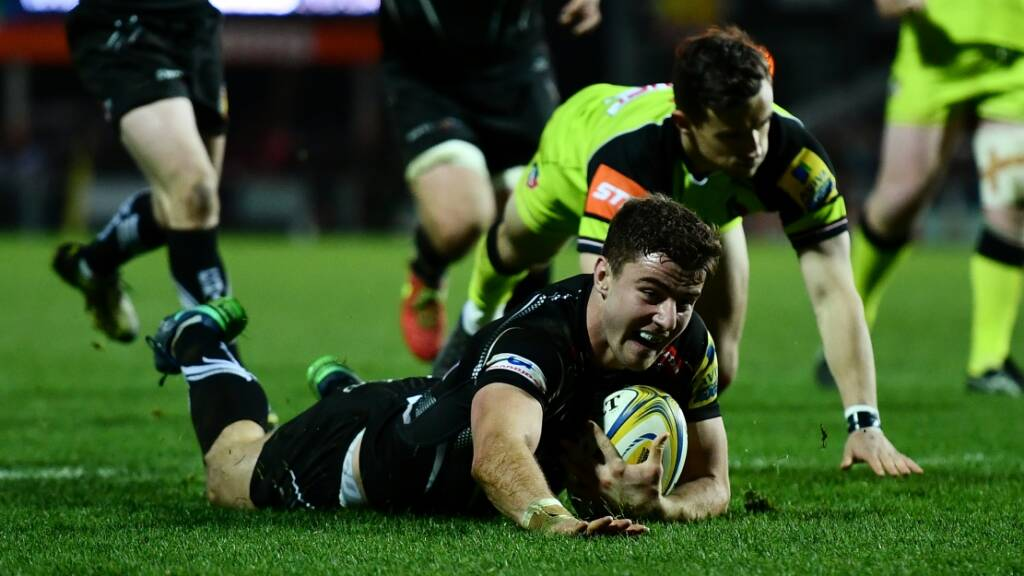 Exeter Chiefs side to face Gloucester in Europe