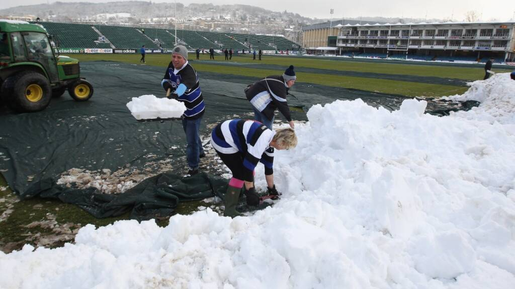 How Aviva Premiership Rugby beats the weather