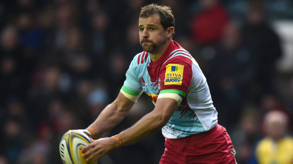 Home sweet home for Nick Evans and Harlequins