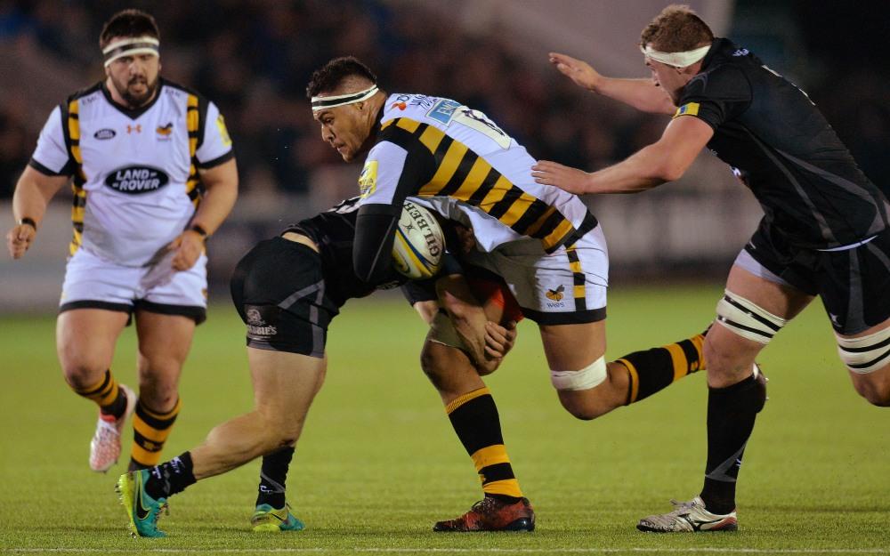 Nathan Hughes has played nine games in Aviva Premiership Rugby this season