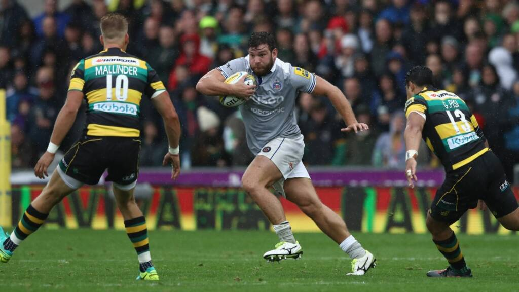 Nathan Catt looking for 80-minute performance from Bath Rugby