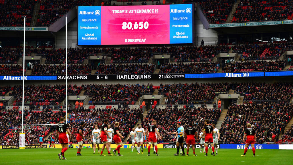 Saracens to thank Emergency Services at Derby Day