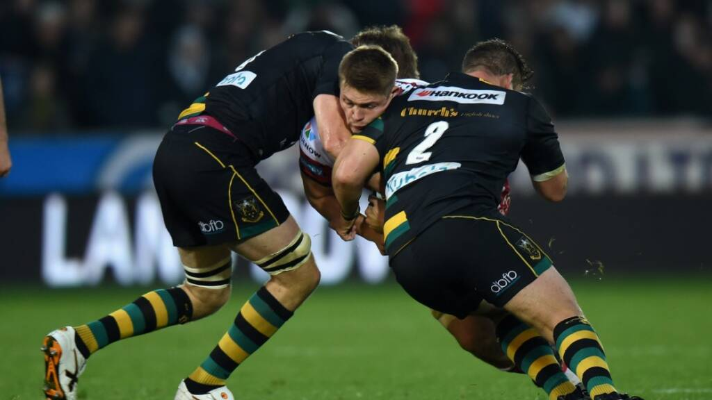 Charlie Clare has played 11 times for Northampton Saints this year.