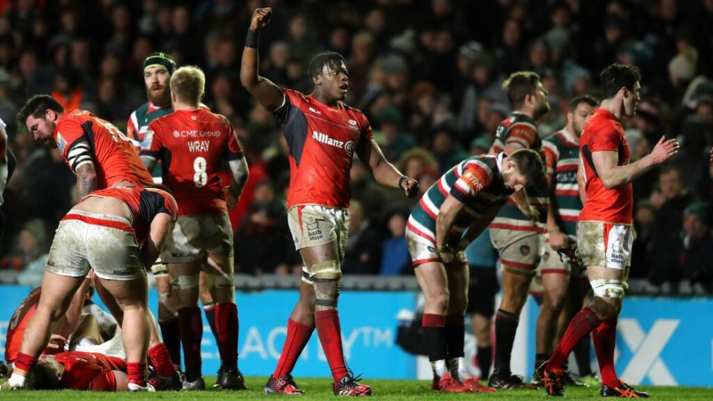 Maro Itoje missed out on the autumn internationals with a fractured hand.