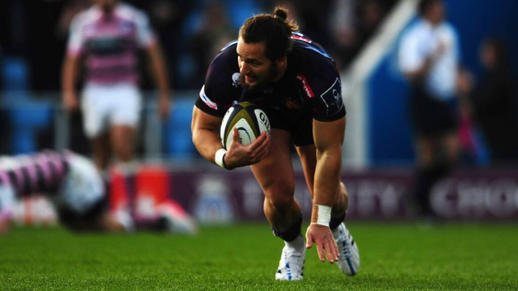 Michele Campagnaro scored twice in Exeter Chiefs' 31-19 win over Ulster in Round 5.