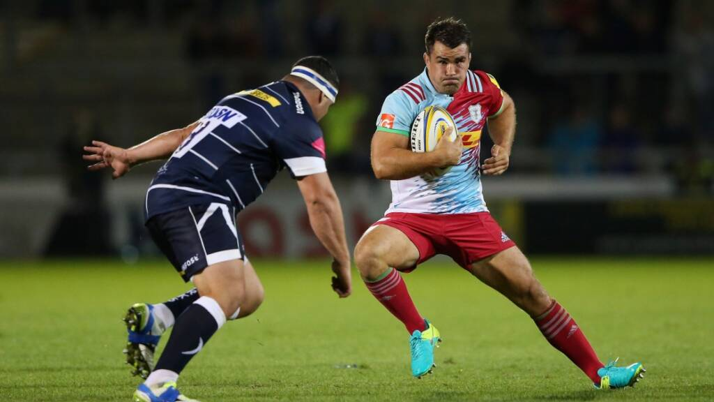 Dave Ward re-signs for Harlequins
