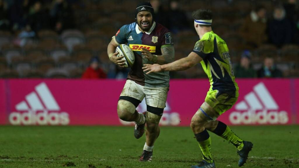 Mat Luamanu believes Harlequins can break their away duck at Bristol Rugby