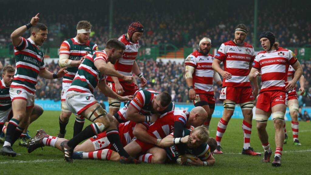 Luke Hamilton crossed after four minutes as Leicester Tigers ended their Aviva Premiership Rugby losing run