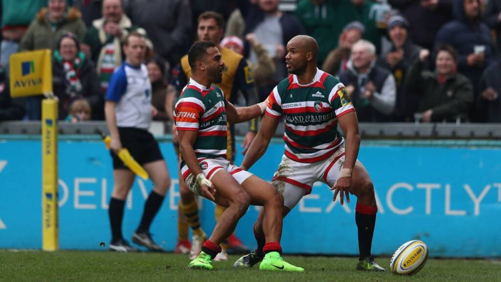 JP Pietersen and Telusa Veainu were pivotal to Leicester Tigers' electric attack