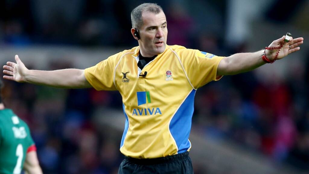 Referee appointments: Dean Richards takes charge of 91st Aviva Premiership Rugby clash