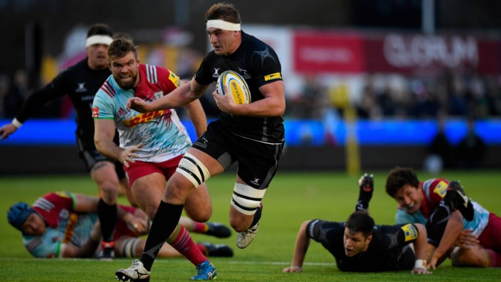 Will Witty targets top six as Newcastle Falcons push continues