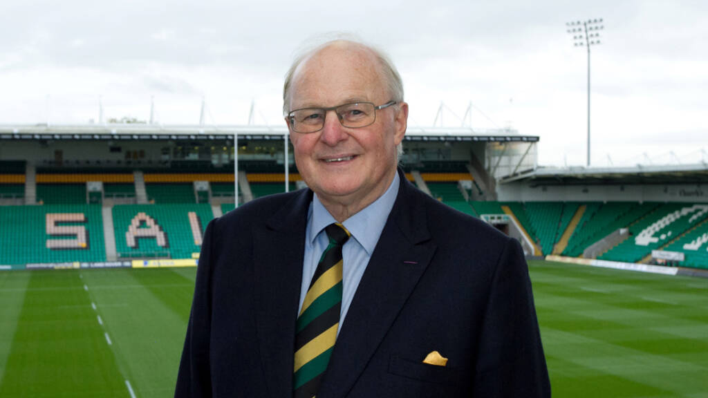 Tony Hewitt to step down as Northampton Saints non-executive chairman
