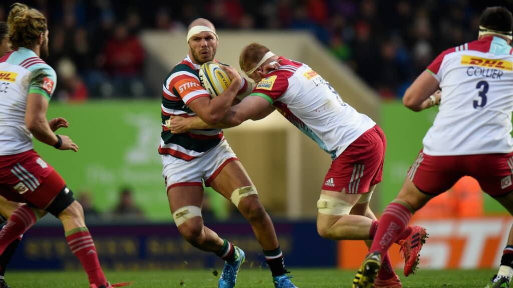 Lachlan McCaffrey eyeing top-four finish for Leicester Tigers