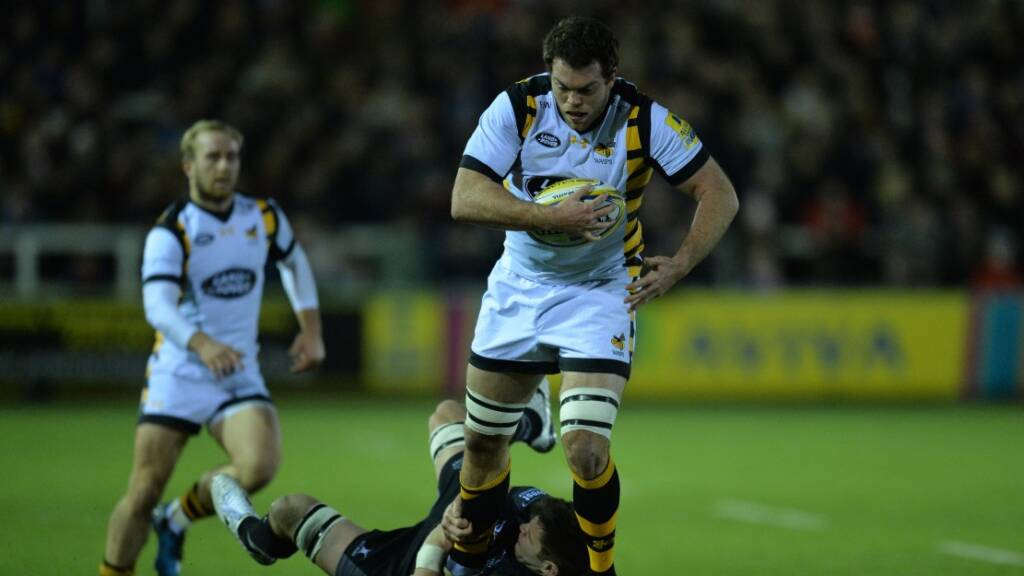 Alex Rieder's ambition burns bright after new Wasps contract