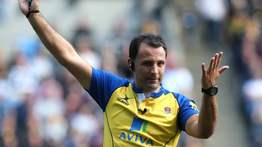 Match Officials for Aviva Premiership Rugby Round 17