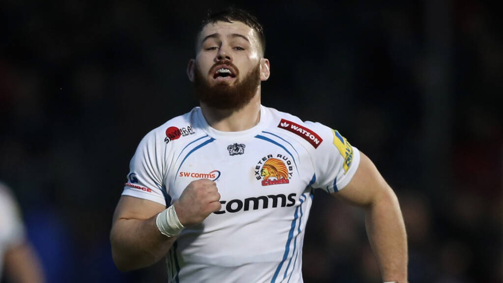 Exeter Chiefs side to face Leicester Tigers
