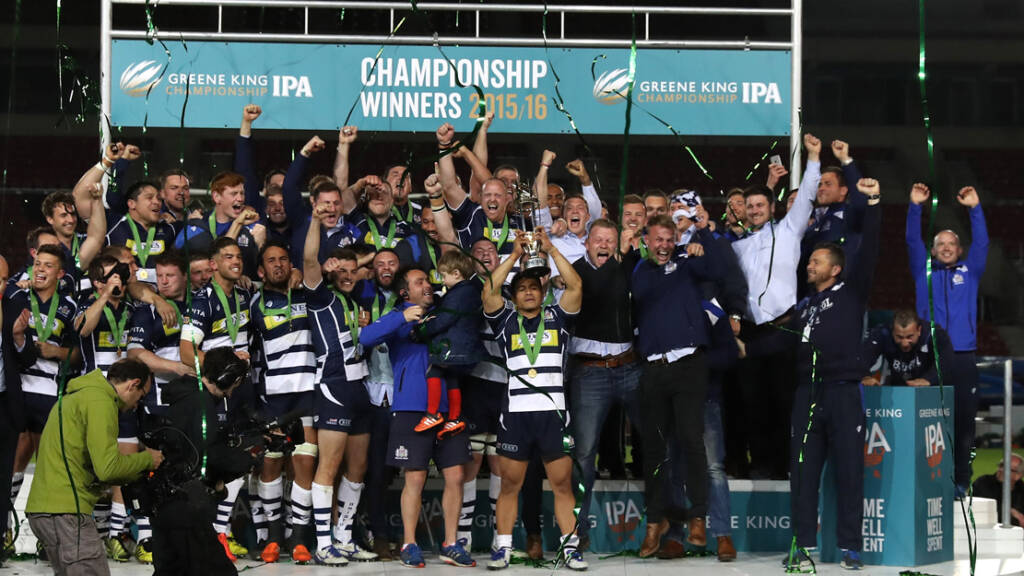 Bristol Rugby win the Championship play-off