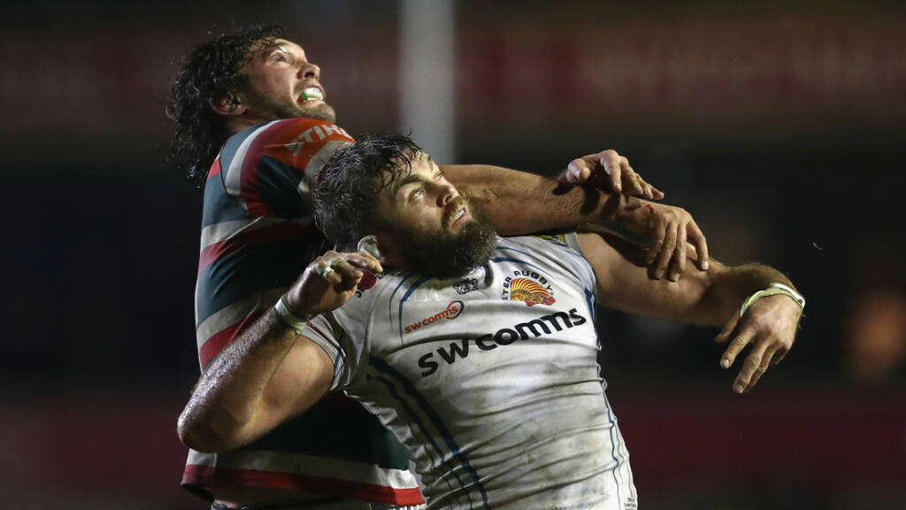 Geoff Parling savours away-day success with Exeter Chiefs