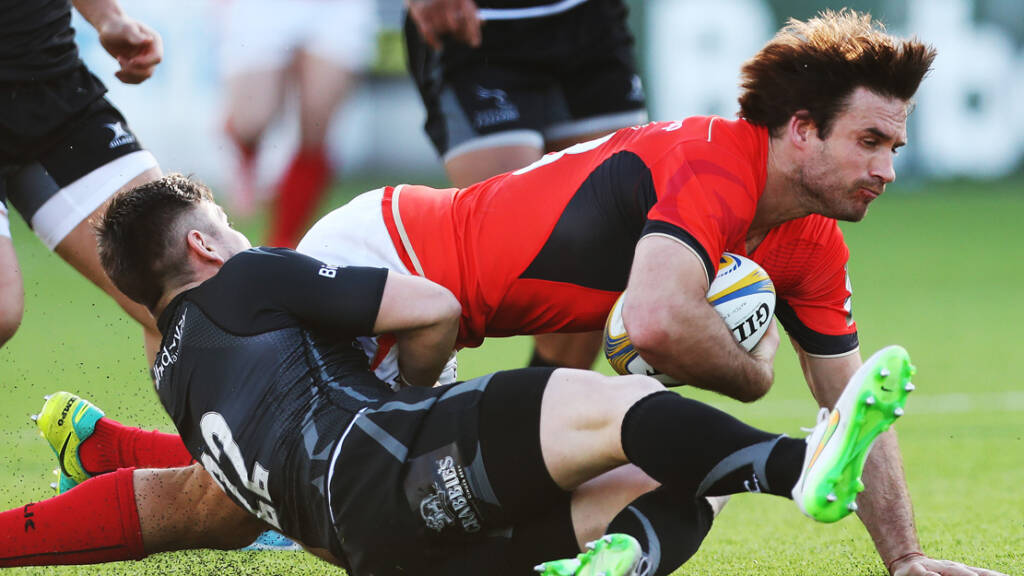 Newcastle Falcons v Saracens