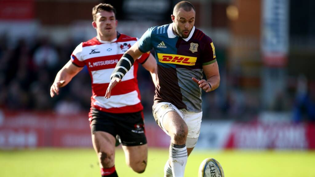 Harlequins' Ross Chisholm not thinking past Exeter Chiefs semi-final