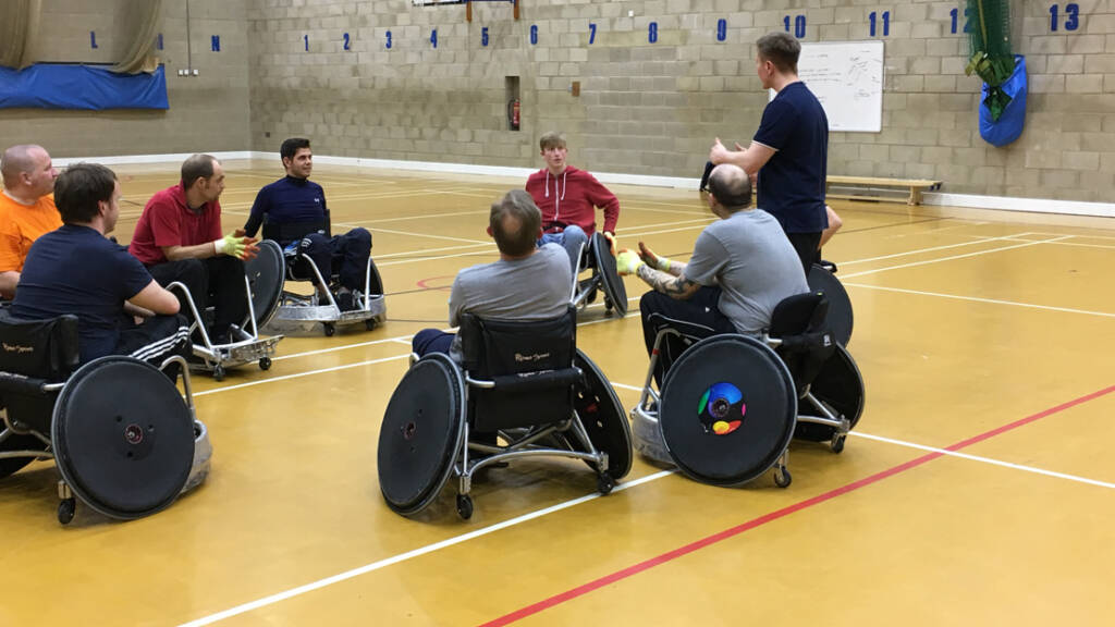 Wheelchair Rugby going from strength-to-strength with Saints