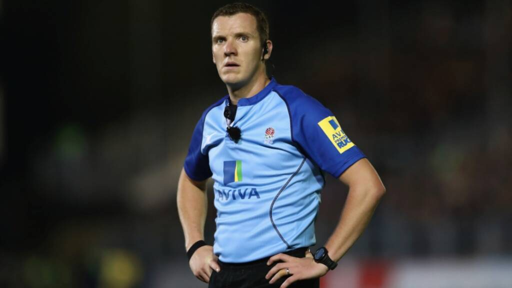 Referee appointments: Tom Foley to take the whistle for Anglo-Welsh Cup final