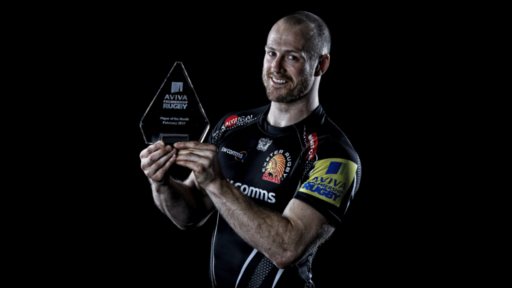 Aviva Premiership Rugby Player of the Month named