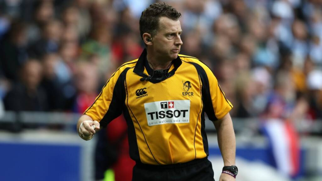 Referee appointments for EPCR quarter-finals