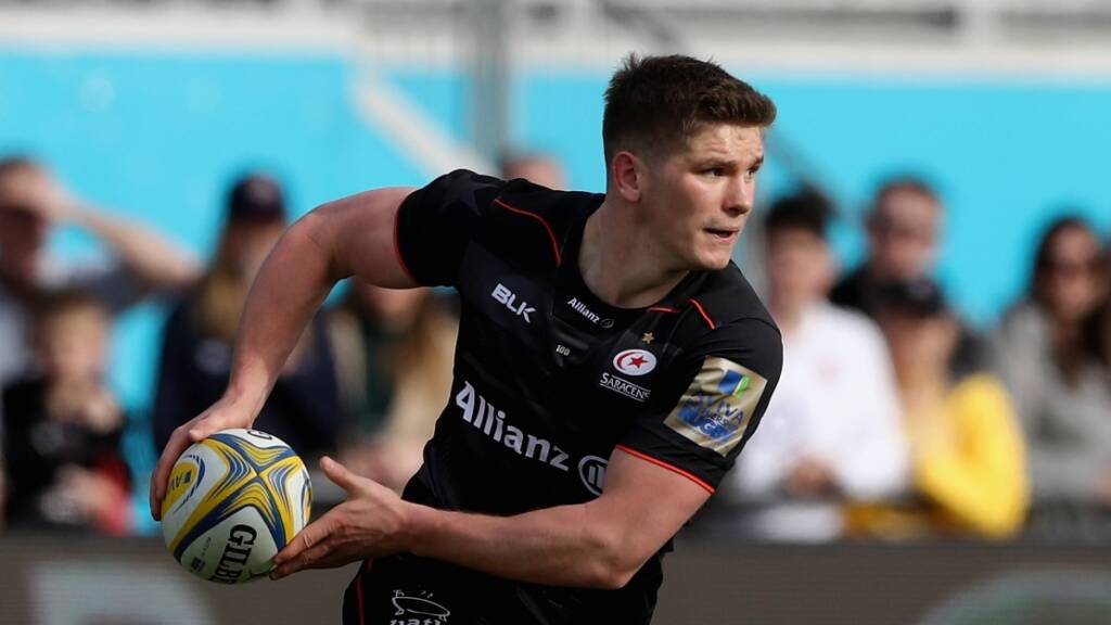 Owen Farrell wary of Glasgow Warriors threat