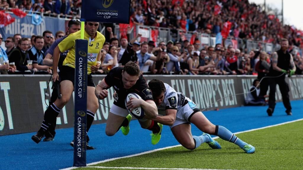 Aviva Premiership Rugby European round-up: Saracens book fifth-straight semi-final