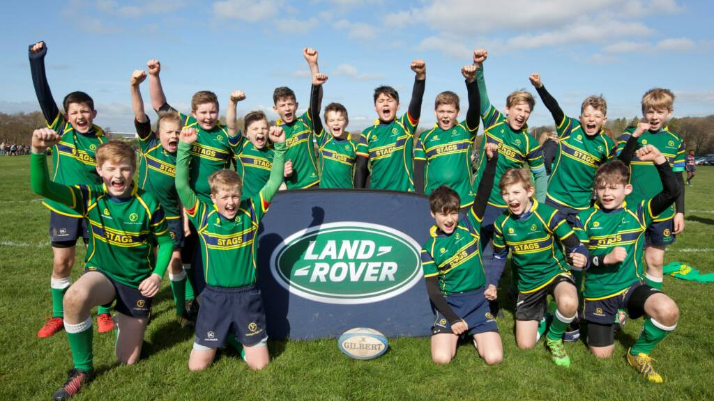 Youngsters buzzing for Twickenham trip following Wasps' Land Rover Premiership Rugby Cup