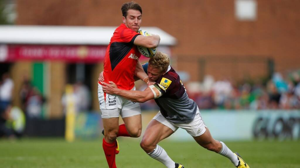Chris Wyles: Saracens targeting home semi-final ahead of Derby Day