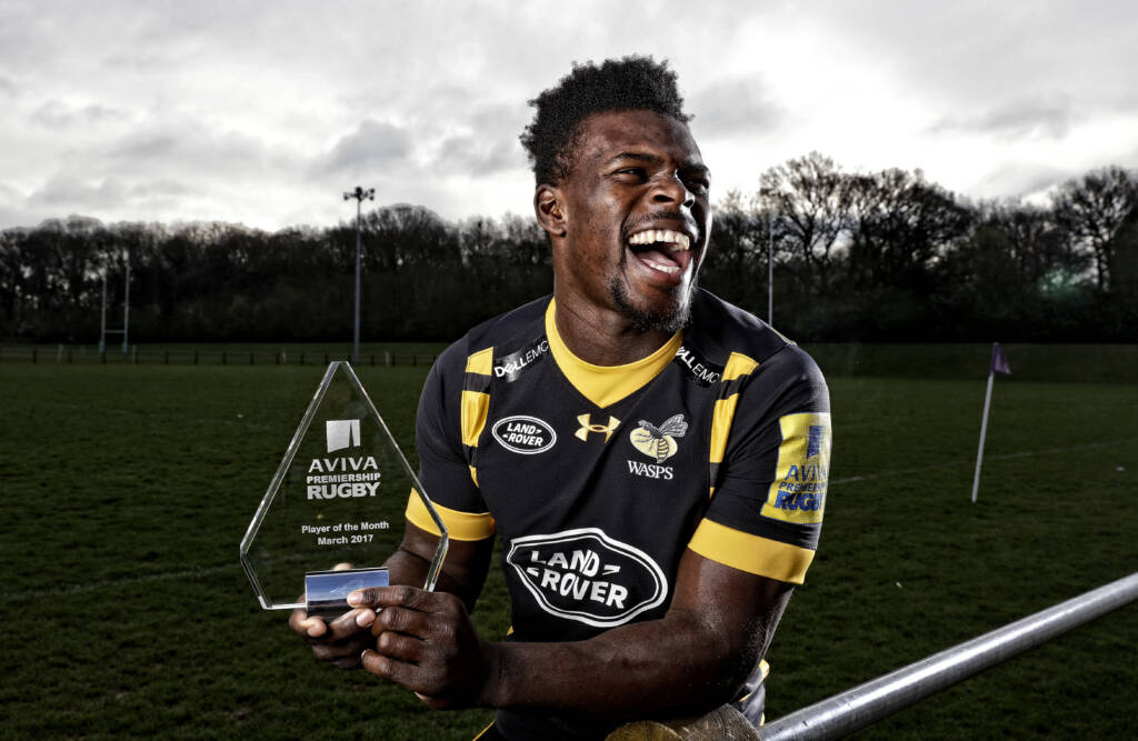 Christian Wade named Aviva Premiership Rugby Player of the Month