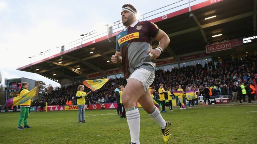 Harlequins' Collier looks forward to the wonder of Wembley