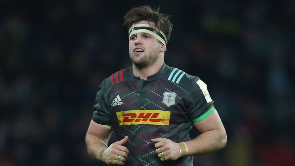 Harlequins team to play Saracens at Wembley