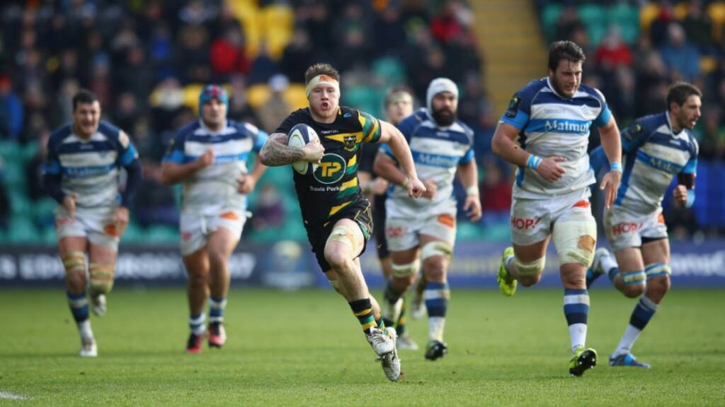Teimana Harrison relishes competition at Northampton Saints